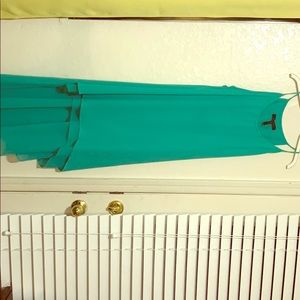 NWOT BCBG Asymmetrical AZIRA dress
